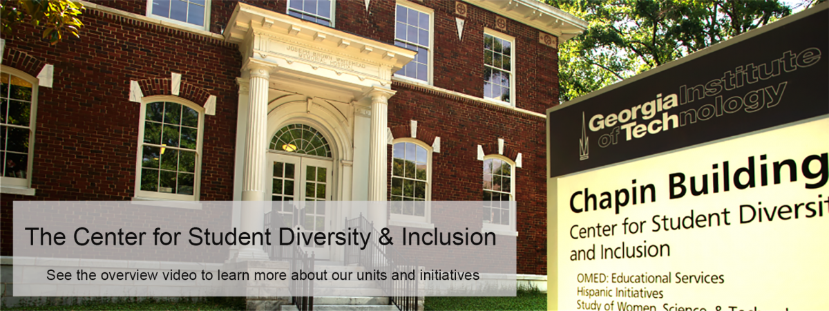 center for student diversity and inclusion