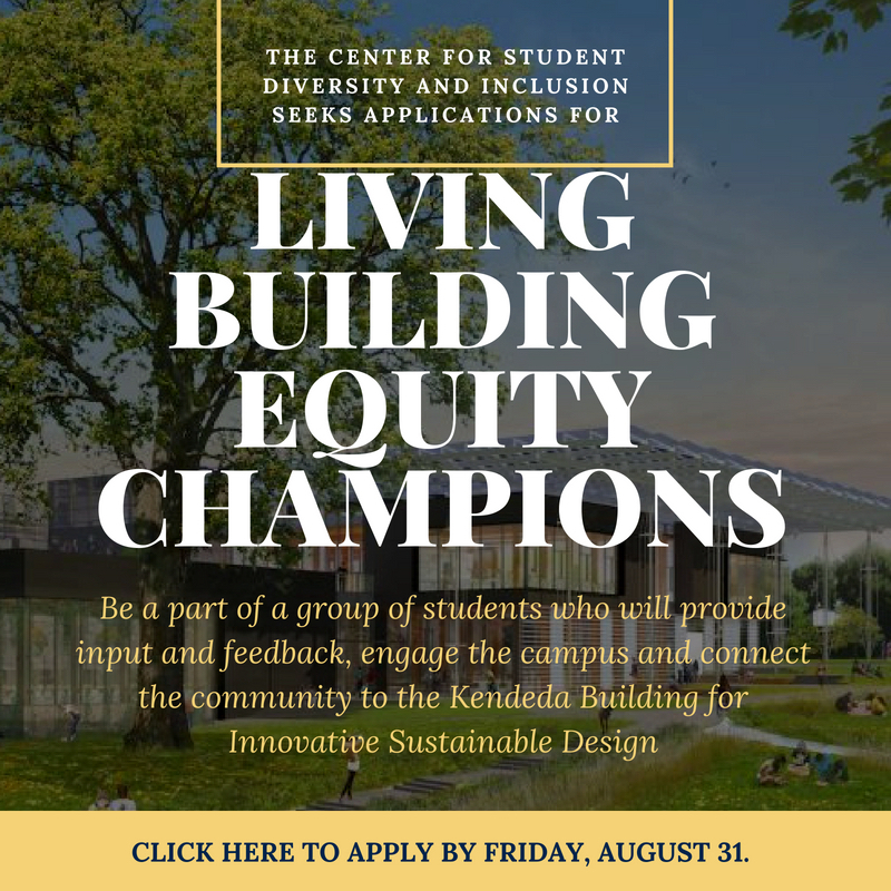 Living Building Equity Champion Application Period